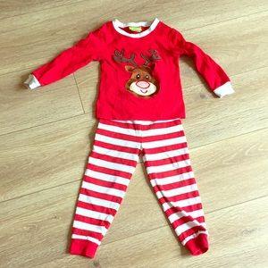 Other - 3T Reindeer Pajamas